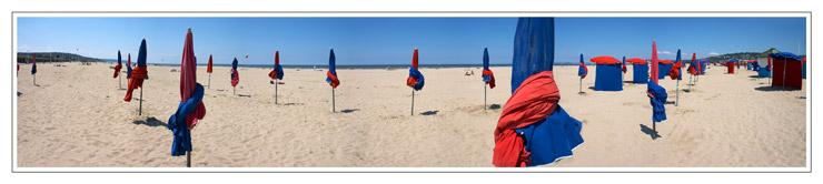 La plage, Deauville