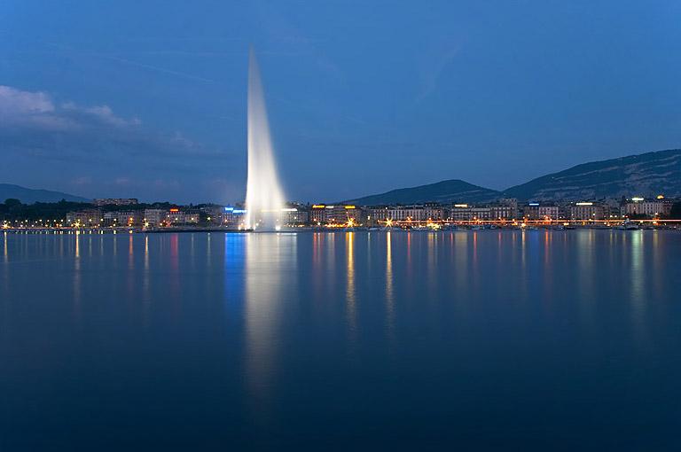 Jet d'eau, genève (suisse)